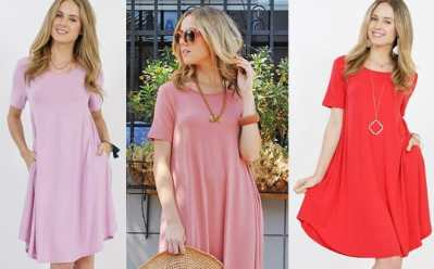 Jane: Pocket Dress JUST $7.99 + FREE Shipping (Reg $17)