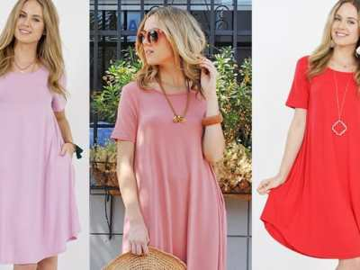 Jane: Pocket Dress JUST $7.99 + FREE Shipping (Reg $17)