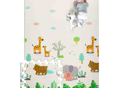 Amazon: Baby Foam Play Mat Extra Thick and Large for $37