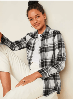 Old Navy: TODAY ONLY* Flannel Shirts for the Fam! Only $12-18.50