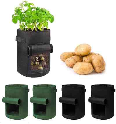 Amazon: Garden Plant Bags with Access Flap for $7.80