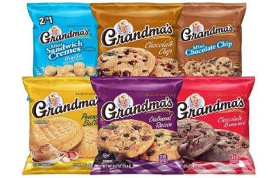 AMAZON: Grandma's Cookies Variety Pack of 30 ONLY $9.74 (Reg. $14.99)