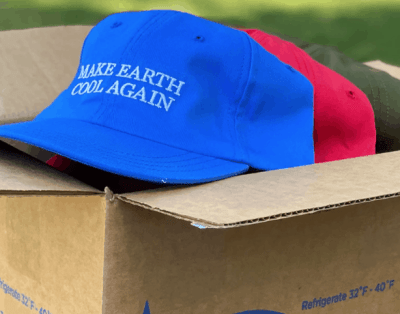 FREE 'Make Earth Cool Again' Hat from Stonyfield Organic