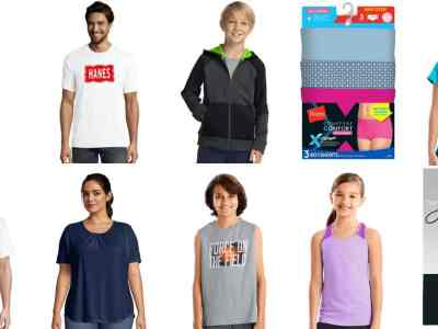 Hanes: Clothing for the Whole Family EXTRA 50% OFF + Free Shipping!