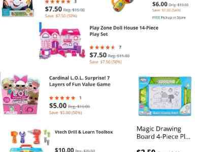 Biglots: 50% off Toys sale!!