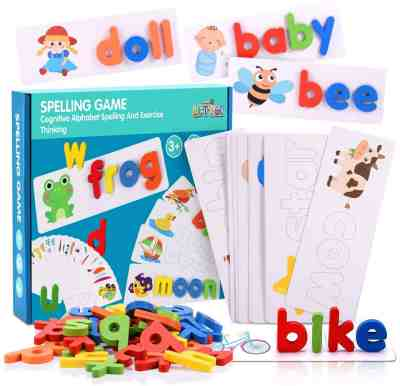 Amazon: LET'S GO! See and Spell Learning Toys, Matching Letter Spelling Game, Just $10.79 (Reg $17.99) after code!