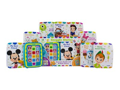 Zulily: Disney Baby Snuggle Stories Electronic Reader & 8-Book Library Set Now $18.99