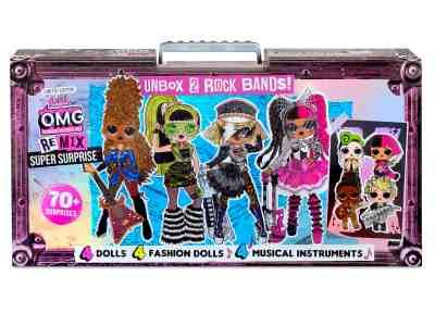 Walmart: L.O.L. Surprise! O.M.G. Remix – 70+ Surprises, 4 Fashion Dolls & 4 Dolls $98.00 At Reg.$119.00