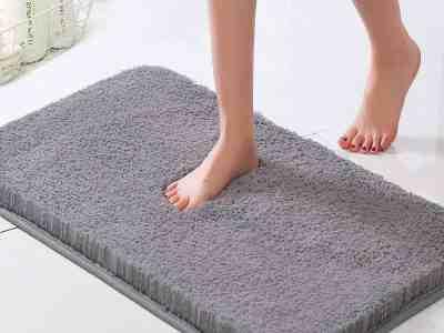 Amazon: Luxury Bathroom Rug Non Slip Bath Mat 50% Off W/Code