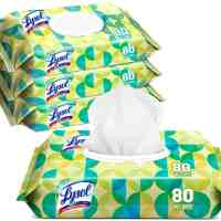 Amazon: Lysol Handi-Pack Wipes, 80ct, 4 Pack for $14.99