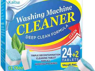 Amazon: Machine Cleaner Effervescent Tablets for $8.49