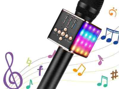 Amazon: Microphone Speaker with Led Lights – Clip Coupon!