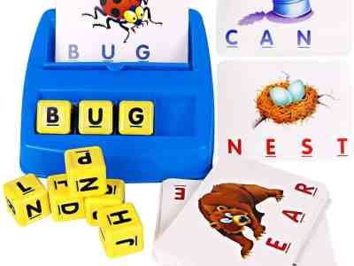 Amazon: Matching Letter Game, Alphabet Reading & Spelling, Just $10.79 (Reg $19.99) after code!