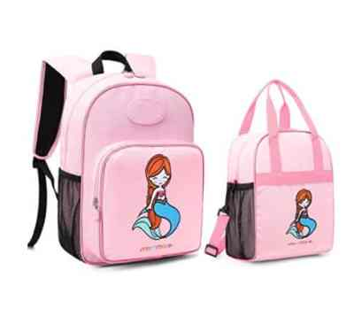 Amazon: Mermaid Kids Backpack with Insulated Lunch Bag for $11.49 (Reg. Price $22.99) after code!