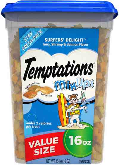 Amazon: MixUps Crunchy and Soft Cat Treats, 16 oz. for $5.36 (Reg.Price $8.24) after coupon!