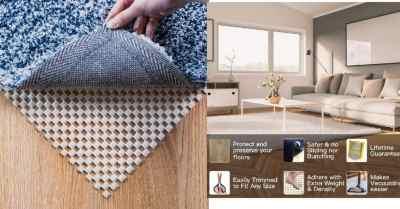 Amazon: Non-Slip Rug Pad 5 x 7 Ft for Hardwood Floors $10.2 ($17)