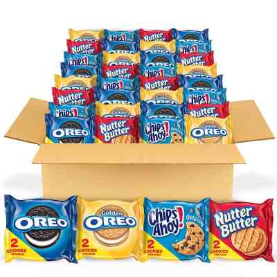 Amazon: OREO Original, OREO Golden, CHIPS AHOY! & Nutter Butter Cookie Snacks Variety Pack, Just $10.95 via Sub&Save!