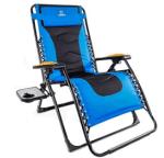 Amazon: Oversized Zero Gravity Chair Blue Only $75.65 (Reg. $129.90)