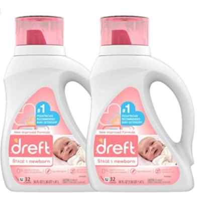 Amazon: Pack of 2 Hypoallergenic Liquid Baby Laundry Detergent for $15.98 (Reg. Price $19.98) after coupon!