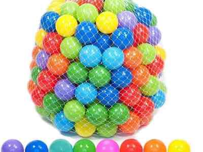 Amazon: Playz 50 Soft Plastic Mini Play Balls w/ 8 Vibrant Colors, Just $9.95 (Reg $39.95)