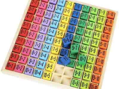 Amazon: ROBUD Wooden Multiplication & Math Table Board Game, Just $13.25 (Reg $23.59)
