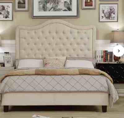 Wayfair: Rauscher Upholstered Standard Bed $177.99 At (Reg.$215.99)
