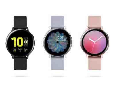 Microsoft: Samsung Galaxy Watch Active2 BT 40mm $149.99 (Reg $249.99)