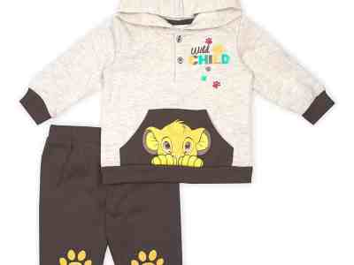 Zulily: The Lion King Beige Simba Hoodie & Brown Paw Print Joggers Now $12.99