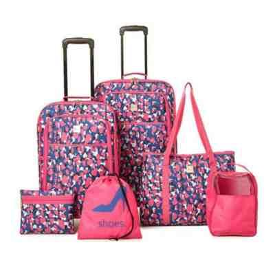BELK: SOLITE 6-Piece Spinner Luggage Set For $39.99 At Reg.$180.00