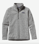 Patagonia: 50% OFF on Women's Better Sweater 1/4-Zip Fleece
