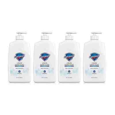 Amazon: Safeguard Liquid Hand Soap, Washes Away Bacteria, 25 Oz (Pack of 4), Just $15.88 (Reg $19.96)