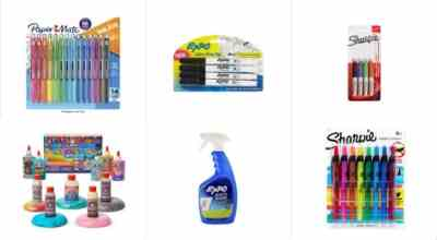 Amazon: Sharpie, Paper Mate, Expo, Elmer's & More!, Save $10.00 on orders $25.00+