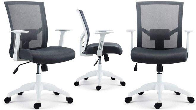 Ardfield mesh task chair grey