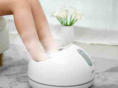 Amazon: Steam Foot Spa Bath Massager for $65.99 (Reg.Price $109.99) after code!
