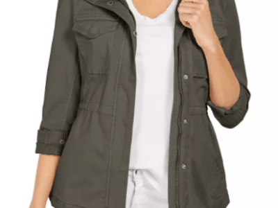 Macy's: Style & Co Twill Jacket for $39.75 + Free Shipping! (Reg. Price $79.50)