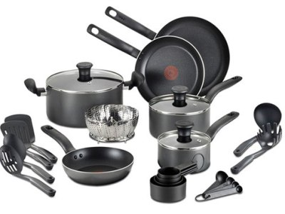 Macy's: T-Fal 18 Piece Nonstick Cookware Set for JUST $49 Shipped (Reg $180)