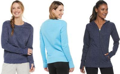 Kohl's: Women's Tek Gear Sweatshirts Starting at JUST $10 + FREE Shipping (Regularly $20)