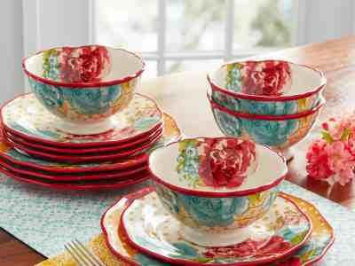 Walmart: The Pioneer Woman Blossom Jubilee 12-Piece Dinnerware Set only $42.97 (Reg. $58.10)