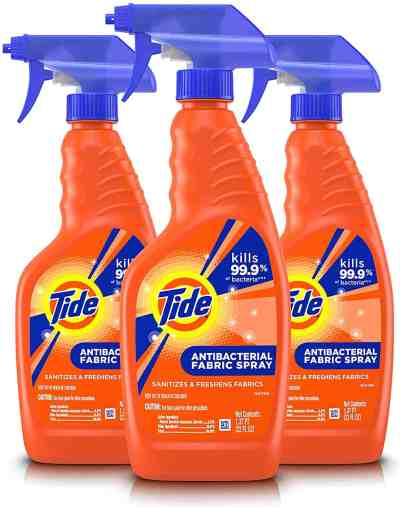 Amazon: Tide Antibacterial Fabric Spray, 3 Count, 22 Fl Oz Each for $16.99