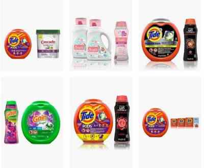 Amazon: Tide, Cascade, and Downy household items, Up to 30% off