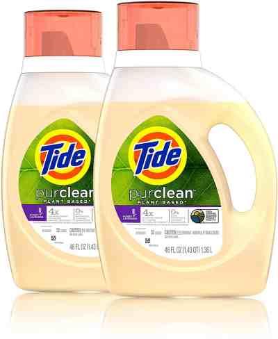 Amazon: Tide Purclean Liquid Laundry Detergent, Honey Lavender, 46 fl Ounce, 2 Count for $14.99 after coupon!