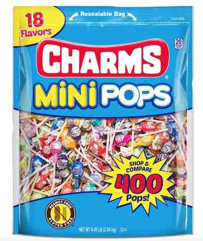 Amazon: Tootsie Roll Charms Mini Pops 18 Assorted Lollipop Flavors, Just $8.49