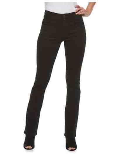 Kohl's: Tummy Control Midrise Bootcut Jeans, Just $14.96 (Reg $44.00)