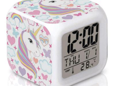 Amazon: Unicorn Alarm Clock for Kids for $6.31