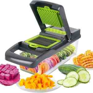 Amazon: Mandoline Slicer with Stainless Steel Blade for $9.49