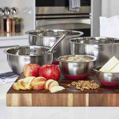 SAM'S CLUB: Viking 10-Piece Stainless Steel Mixing, Prep and Serving Bowl Set For $24.98