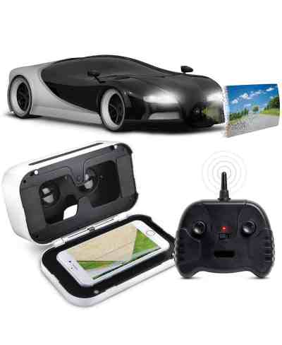 MACY'S: Toy RC Car Italia Racer 1:16 with Virtual Reality Smartphone Viewer For $69.99 At Reg.$139.99