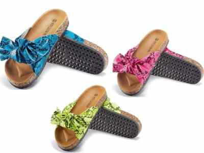 Amazon: Women Cork Sole Slide Sandals for $5.52-$11.20 (Reg. Price $13.80-27.99) after code!
