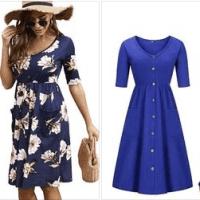 Amazon : Midi Wrap Dresses Just $8.74 W/Code (Reg : $24.99)