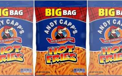Amazon: Andy Capp's Big Fat Hot Fries 8 Pack for ONLY $11.88 – Just $1.48 per Bag!